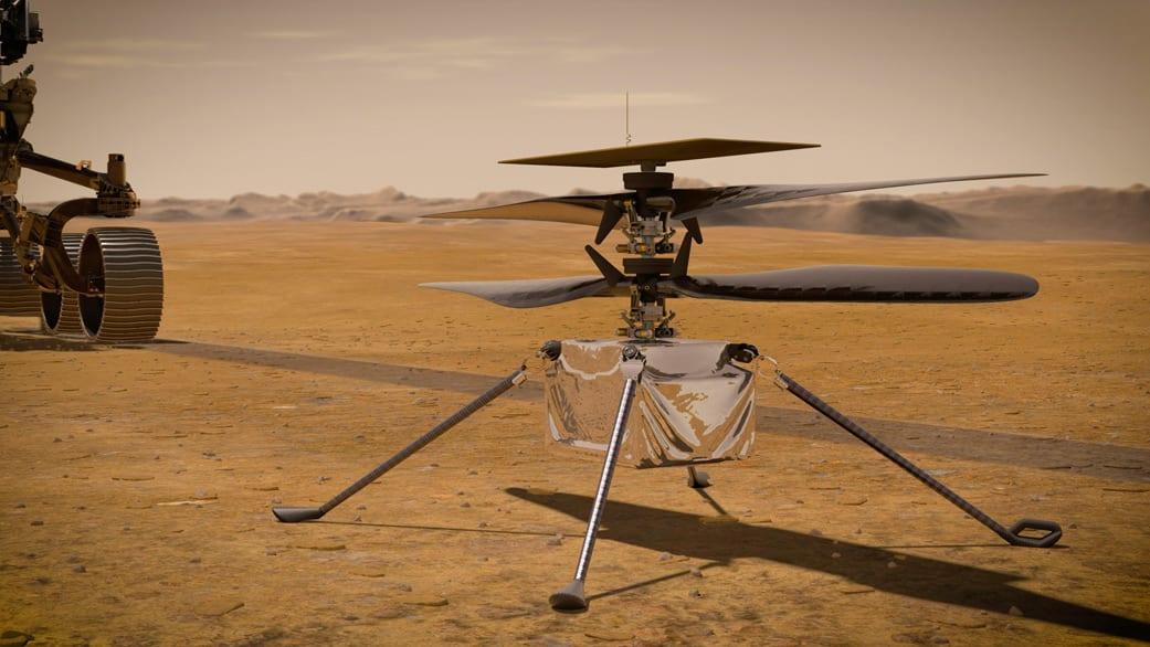 Πως η NASA κατασκεύασε το ελικόπτερο του Άρη