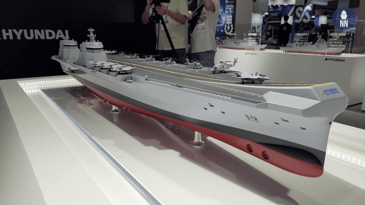 Το νέο CVX Light Aircraft Carrier των Κορεατών