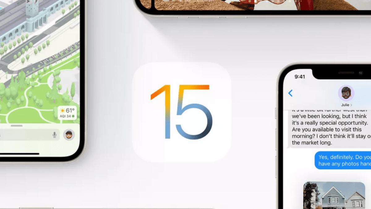 Το νέο iOS 15