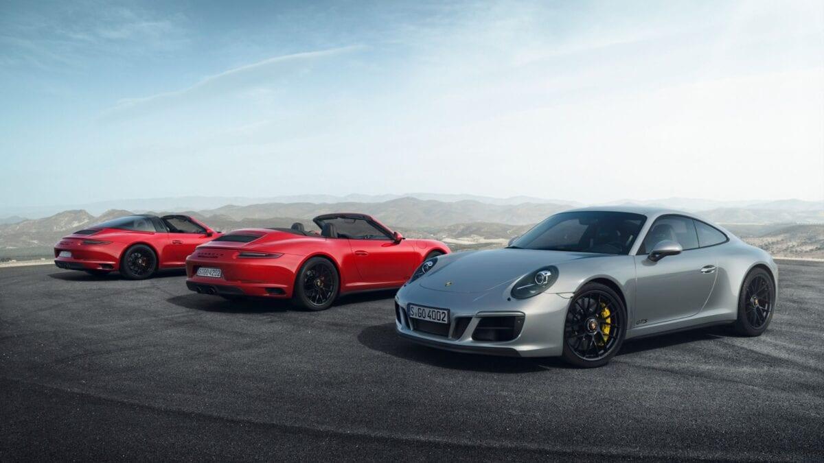 2022 911 Carrera GTS + 911 Targa 4 GTS