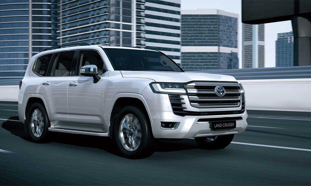 2022 – Toyota Land Cruiser