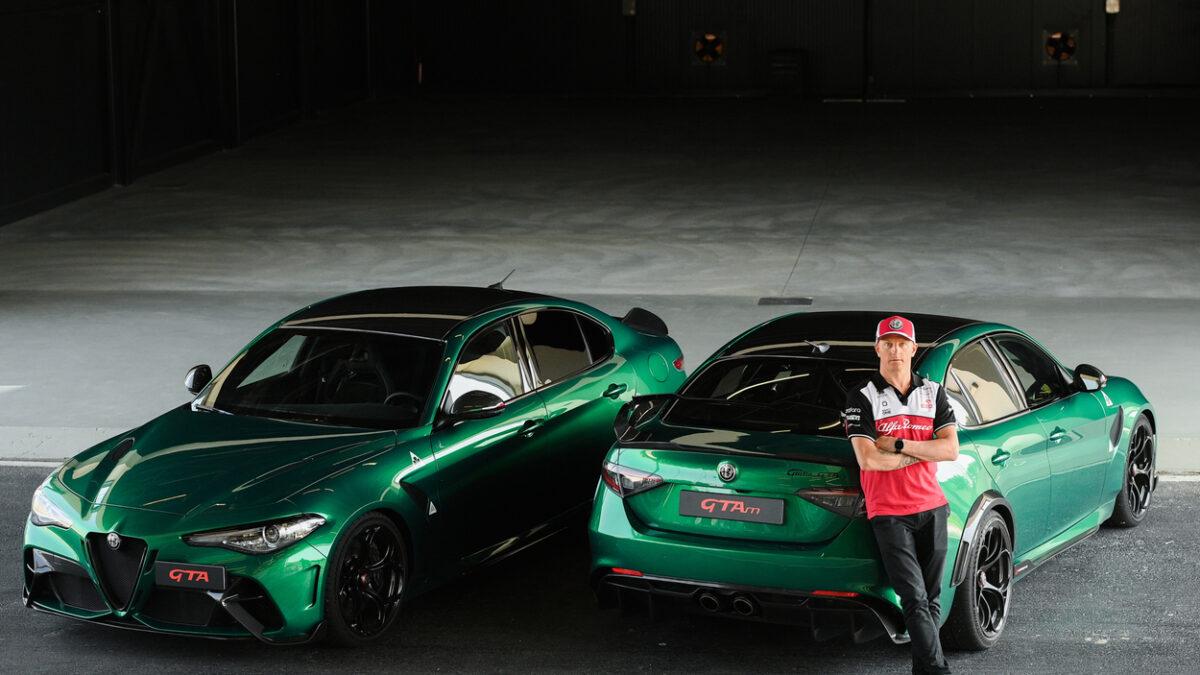 ALFA ROMEO GTAm + Kimi Räikkönen