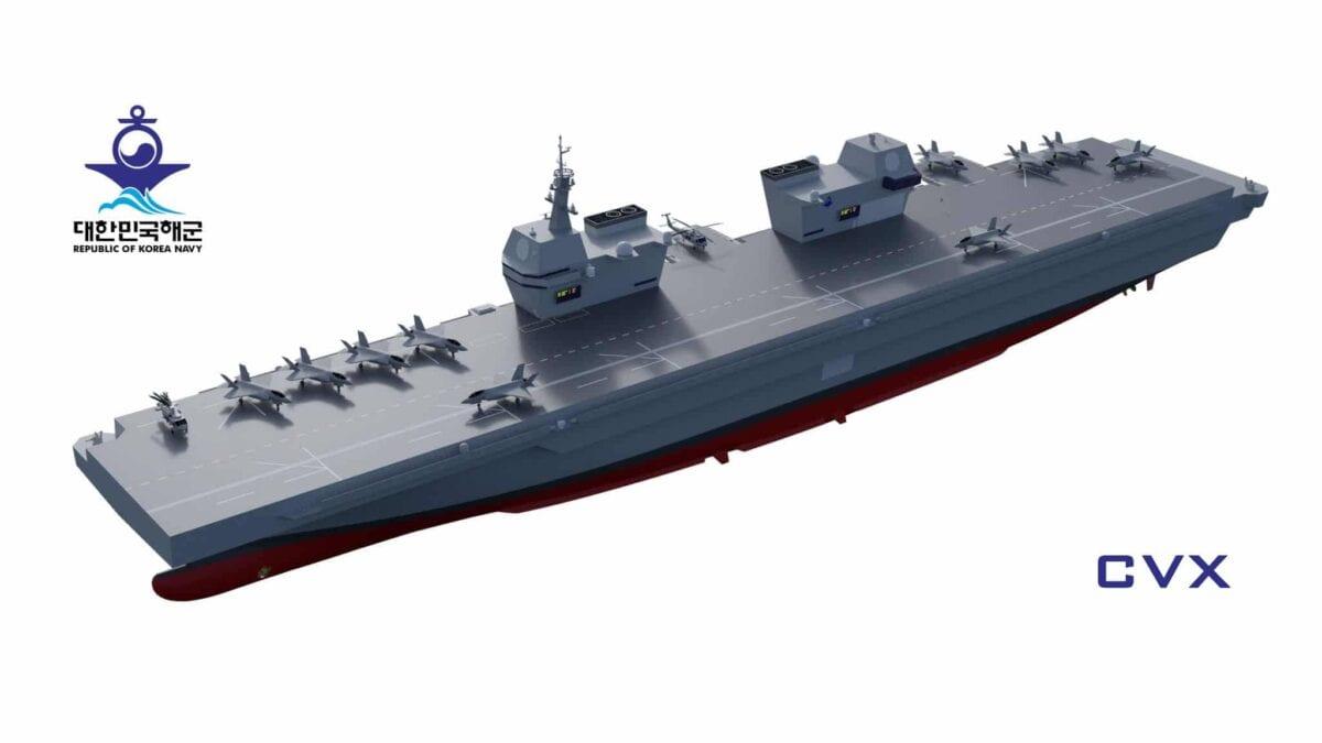 Hyundai Heavy Industries (HHI) CVX light aircraft carrier – το hi tech αεροπλανοφόρο της Κορέας
