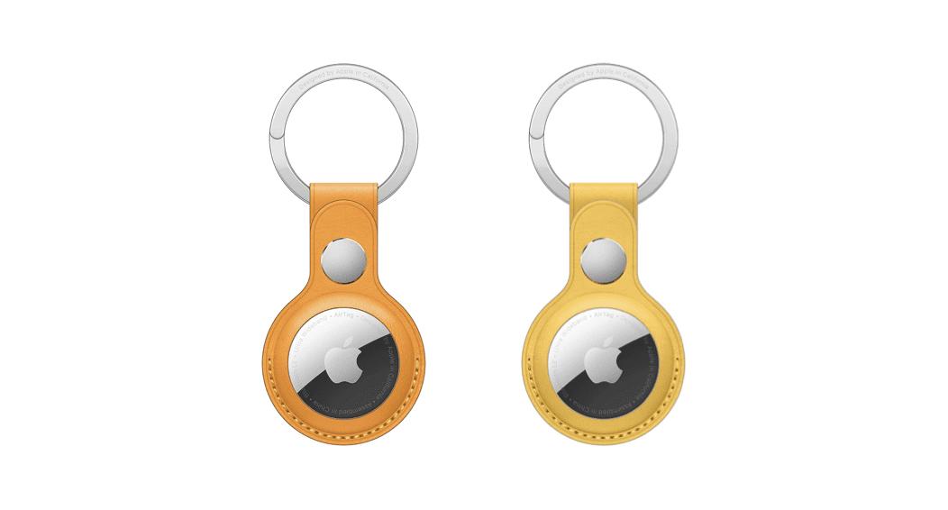 Νέα Apple AirTag loops και keyring