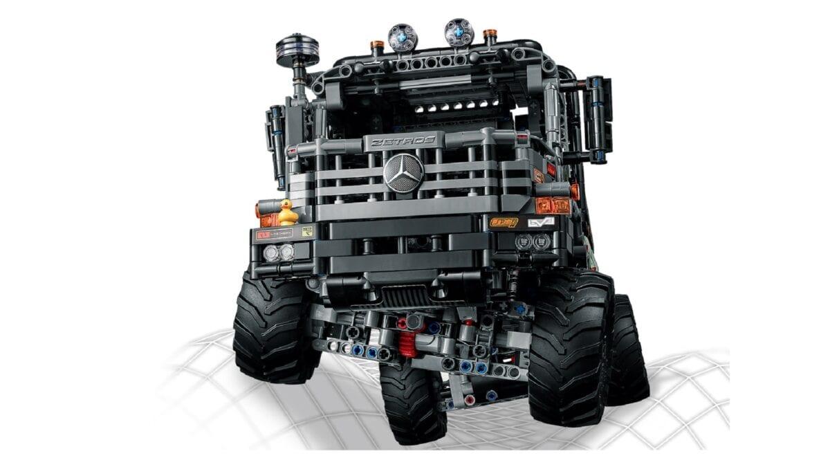 Νέα LEGO 4×4 Mercedes Zetros και Ρυμουλκό