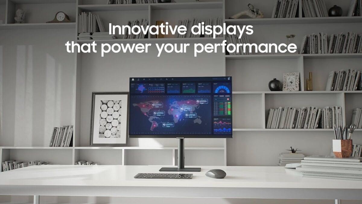 Νέες Samsung High Resolution Οθόνες για υπολογιστή