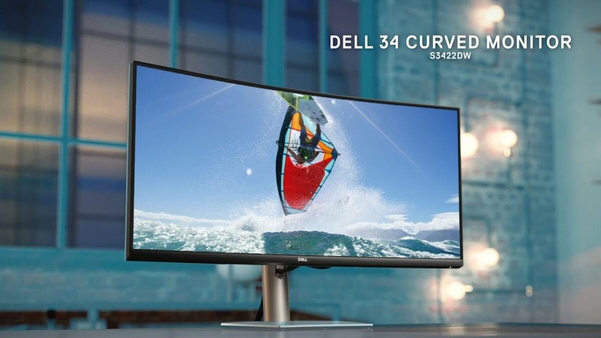Νέο Dell 34 Curved Gaming Monitor S3422DWG