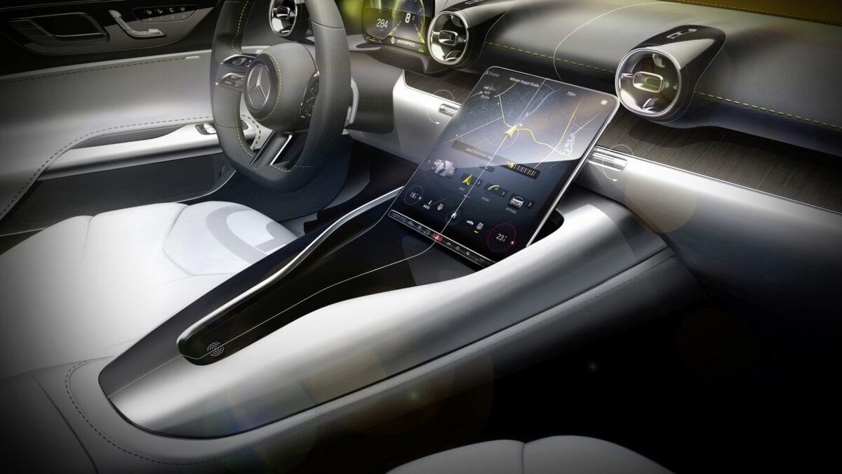2022 Mercedes-AMG SL Roadster εσωτερικό