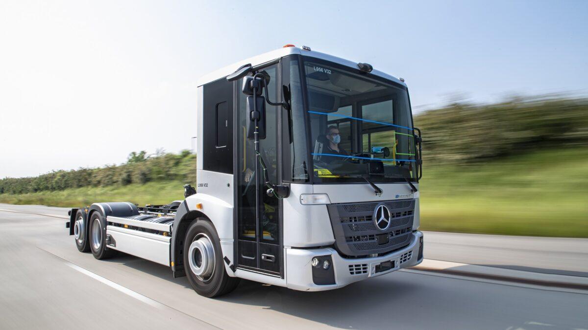 Mercedes-Benz eEconic Ηλεκτρικό Φορτηγό