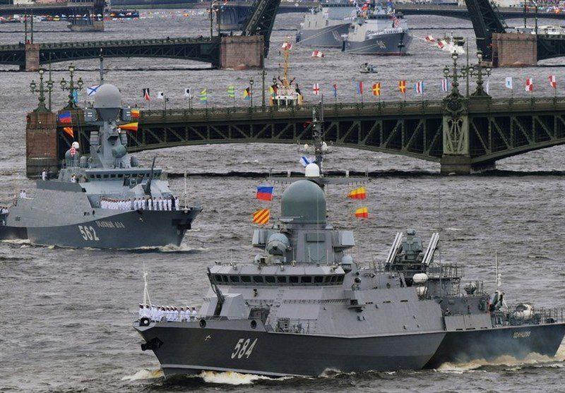 Navy Day στην Αγία Πετρούπολη