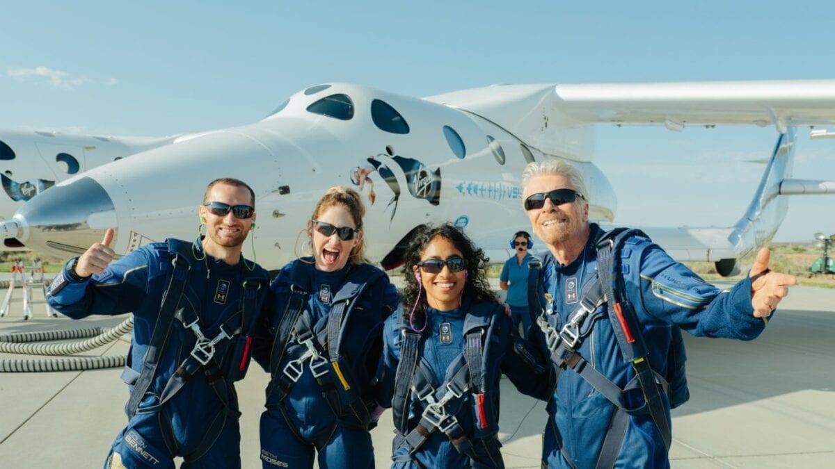 Richard Branson – Μήνυμα από το Διάστημα
