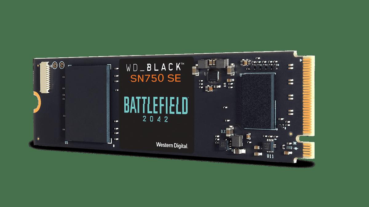 WD BLACK – Νέο SN750 SE NVMe™ SSD Battlefield™ 2042 Game Code Bundle