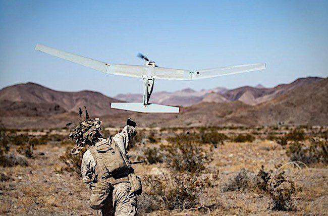 Το 'έξυπνο' Puma AE RQ-20B drone