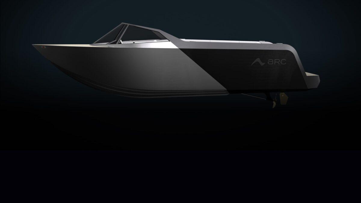 Το πανέμορφο ηλεκτρικό Arc One Electric σκάφος ταχύτητας