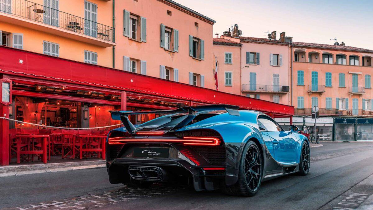 Bugatti + Saint-Tropez