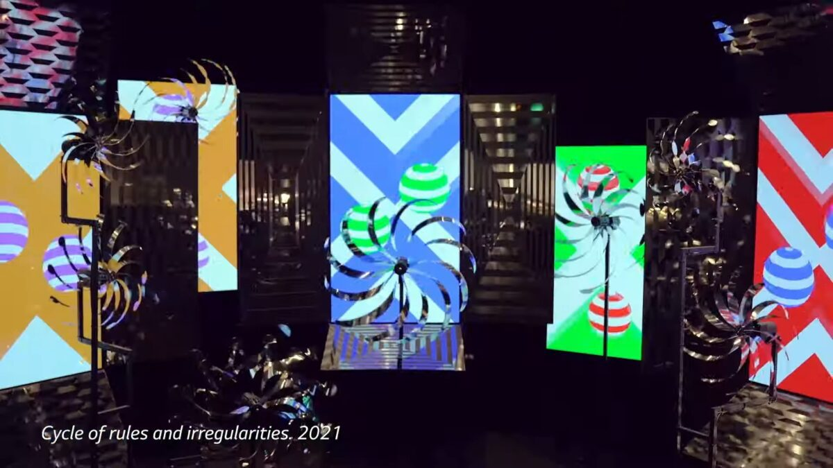LG OLED Art – BVLGARI Colors