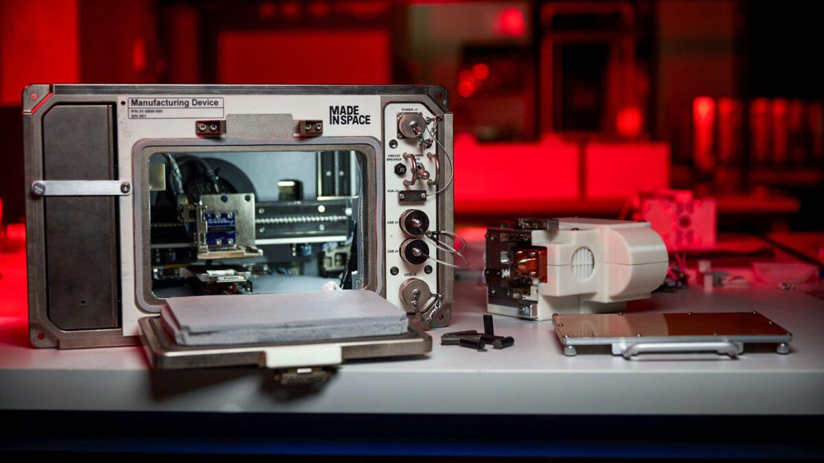 NASA – δοκιμάζει έναν στον International Space Station 3D εκτυπωτή που θα τυπώνει με αστερόσκονη