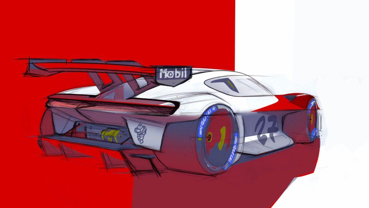 Έκθεση ΙΑΑ 2021 – Mission R electric concept racecar