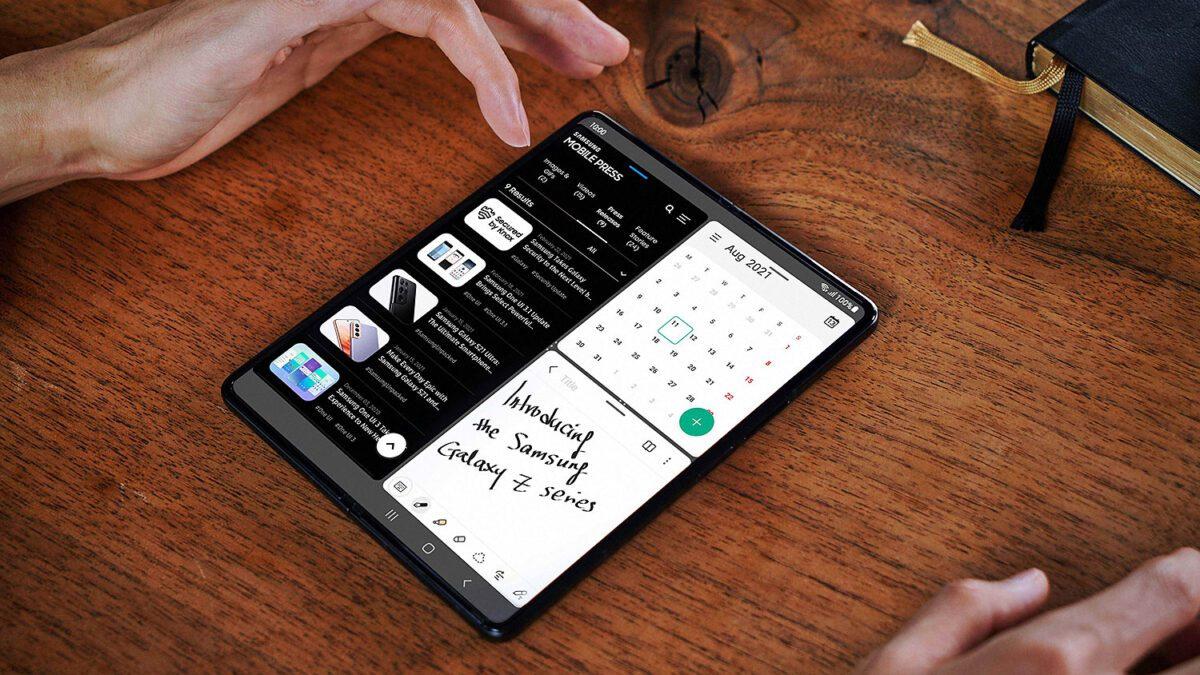 Λειτουργίες Multitasking με το Galaxy Z Fold3 5G
