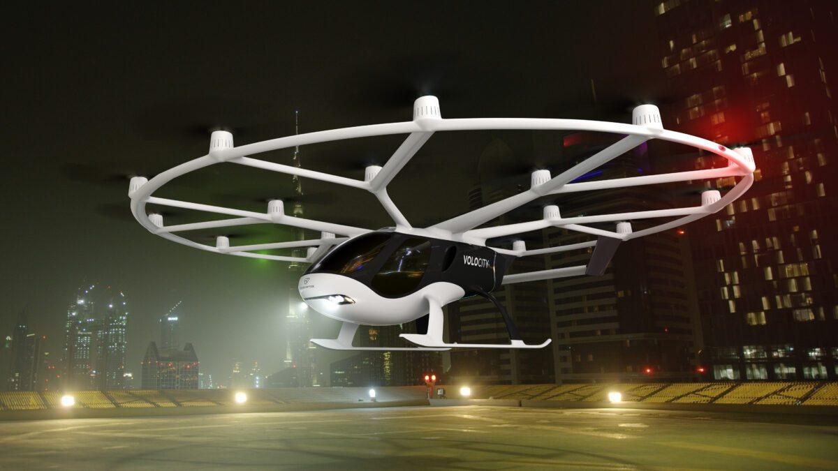 Μεγάλη παραγγελία για την Volocopter