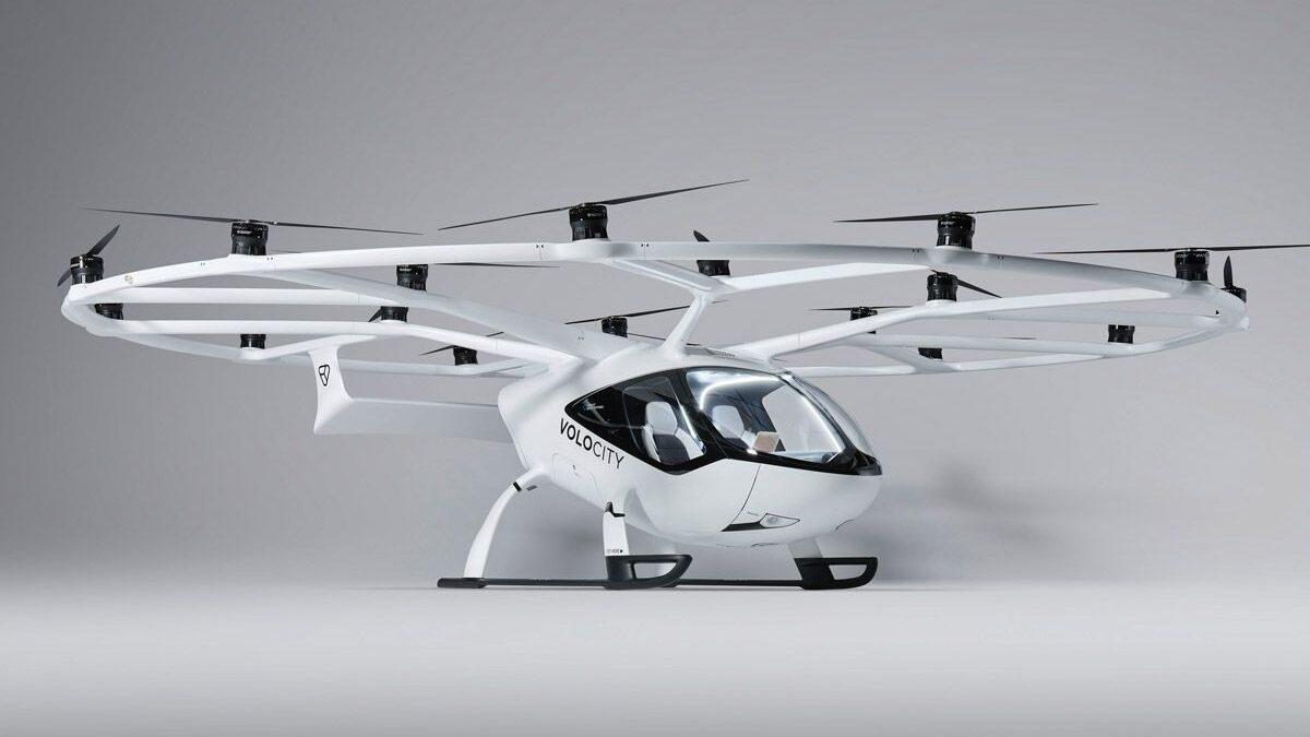 Κάθετι απογείωση και προσγείωση για Ηλεκτρικά Αεροταξί
