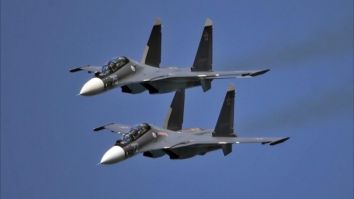 Το πανέμορφο Су-30СМ