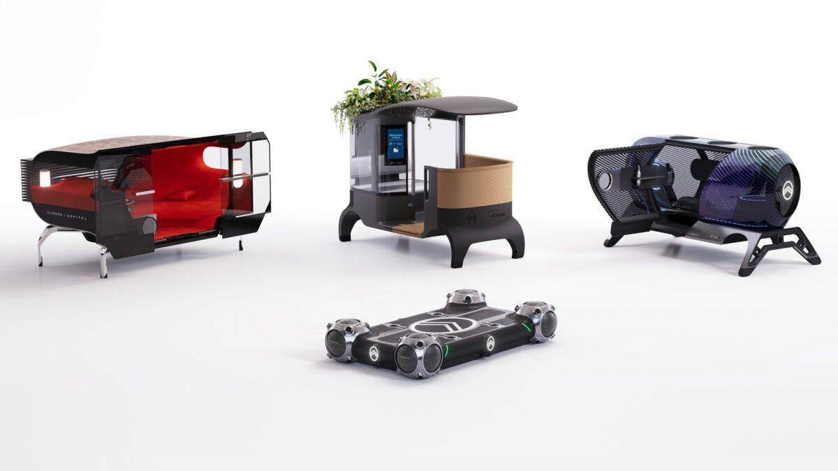 Citroën Autonomous Mobility Vision