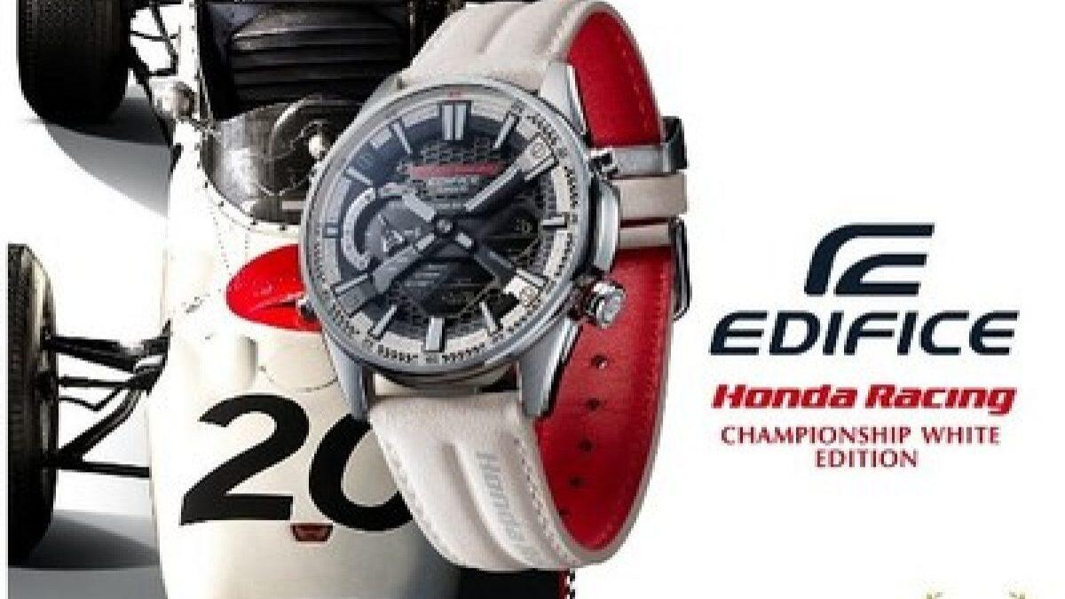 Casio Edifice – Honda Racing Championship White Edition