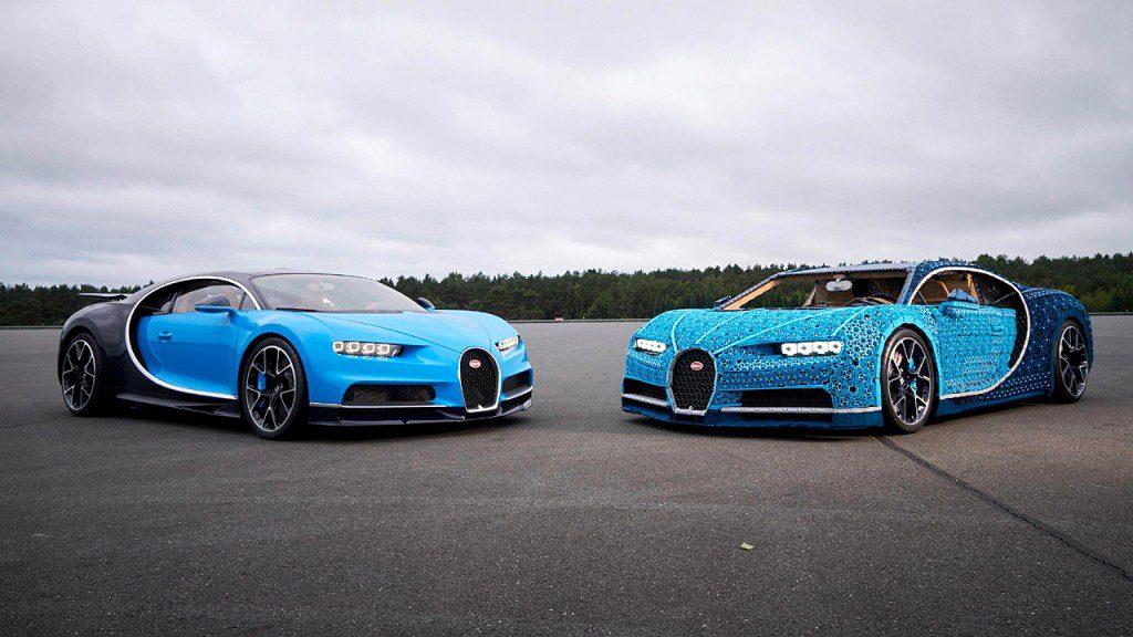 H Bugatti που φτιάχτηκε από 1 εκατομμύριο Lego