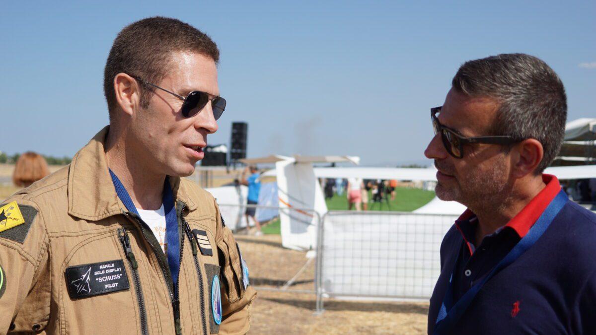 Πιλότος της ομάδας Rafale Demo, Jérôme «Schuss» Thoule: Το Rafale μπορεί να δώσει στην Ελλάδα την «αιχμή»