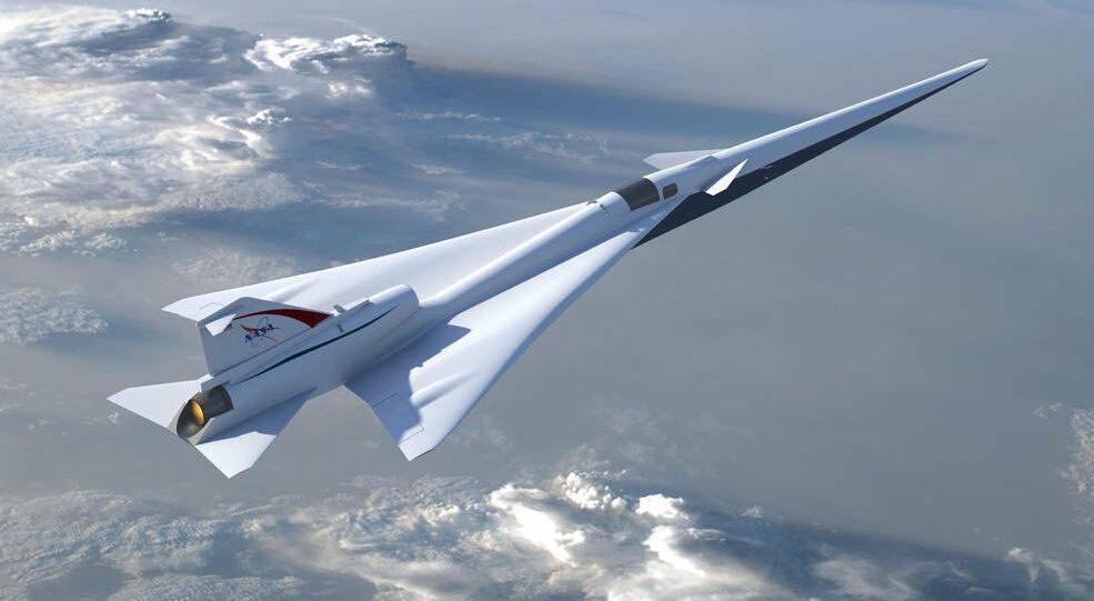 X-59 Low-Boom Flight Demonstration Mission – Υπερηχητικές μετακινήσεις