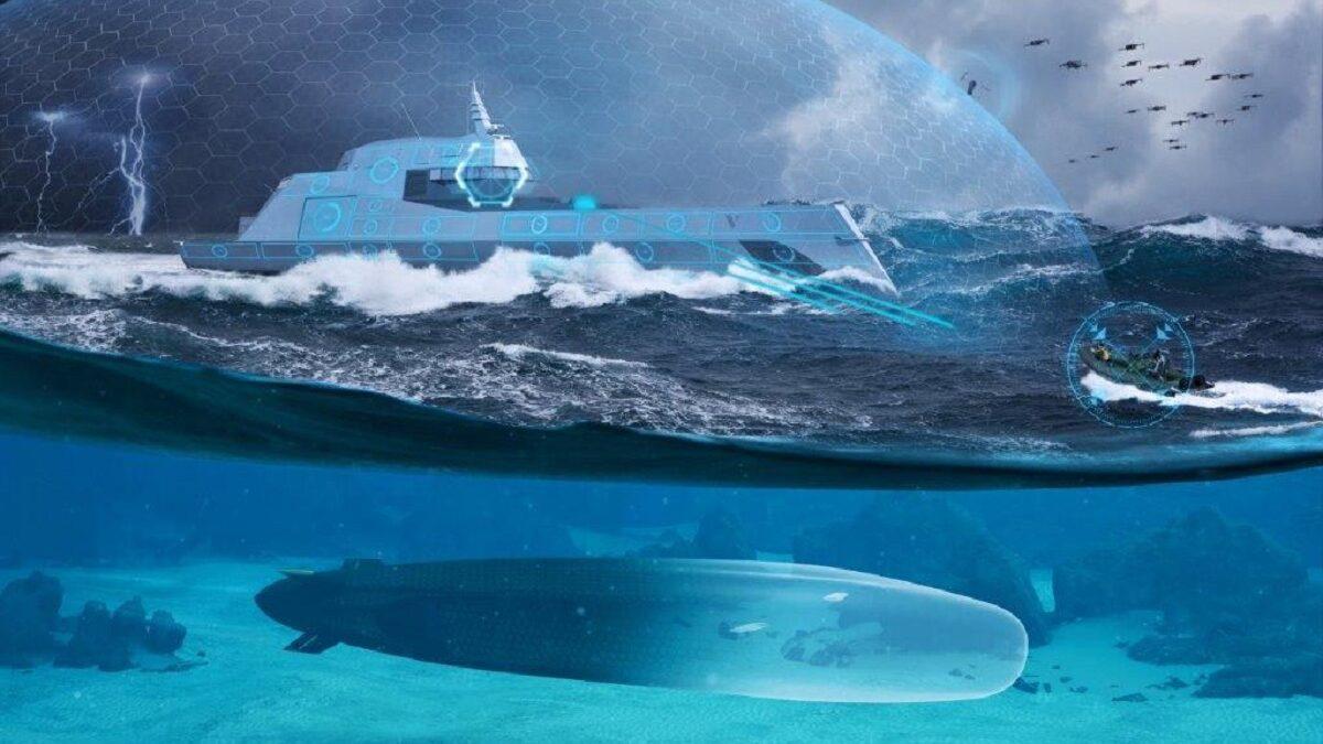 Μεγάλο UUV Unmanned underwater vehicles της γαλλικής Naval Group