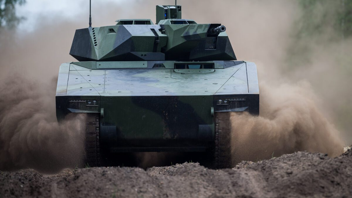 Rheinmetall Lynx OMFV σε επίδειξη