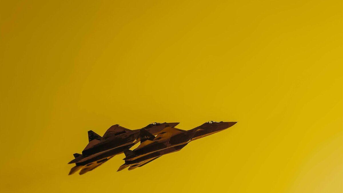 Su-57 – Α flare of the Sun