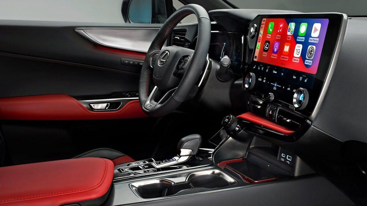 To εντυπωσιακό Interface της Lexus 2022 NX